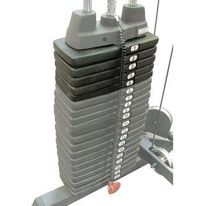50 Pound Selectorized Weight Stack