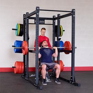 Body-Solid SPR1000 Commercial Power Rack with Rear Extension (SPR1000BACK)