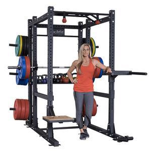 Body-Solid Commercial Extended Power Rack Package (SPR1000BACKP4)
