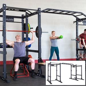 Body-Solid Double Commercial Power Rack Package (SPR1000DB)