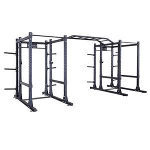 Body-Solid Double Extended SPR1000 Commercial Power Rack (SPR1000DBBACK)