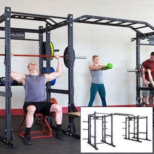 Body-Solid SPR1000 Double Commercial Power Rack Extended