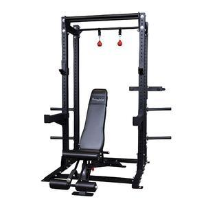 Body-Solid Commercial Extended Half Rack Package (SPR500BACKP4)