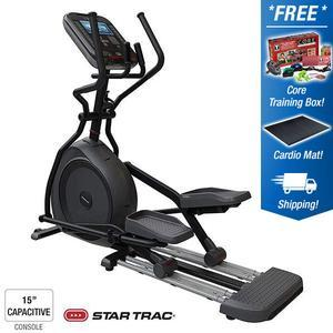 Star Trac 4 Series Cross Trainer with 15 inch Capacitive Touch
