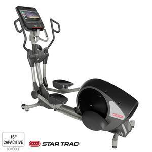 Star Trac 8 Series Rear Drive Cross Trainer with 15 inch Capacitive Touch