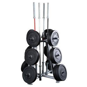 Body-Solid Commercial Weight Plate Barbell Rack (SWT1000)