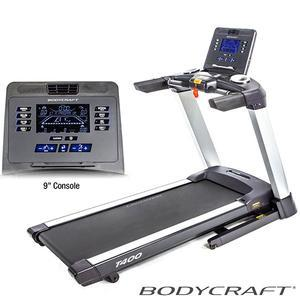 BodyCraft T400 Treadmill with 9inch LCD Console