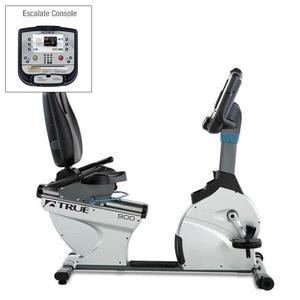 True C900 Recumbent Bike with Escalate Console