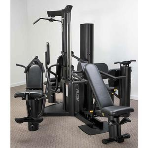 Vectra VX-28 Two Stack 210lb. Multi-Station Gym