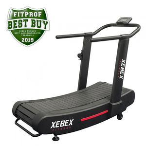 Xebex Runner Smart Connect Curved Non-Motorized Treadmill