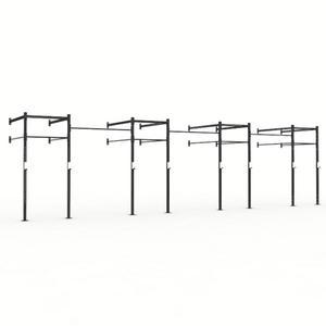 X Training Wall Mount 34' Pull Up Rig (XTE34FTWALLRIG)