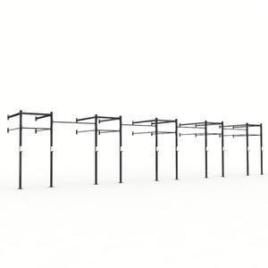 X Training Wall Mount 44' Pull Up Rig