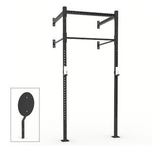 X Training 4ft x 4ft Wall Mount Pull-Up Rig