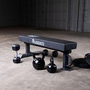 Rugged XL Flat Bench