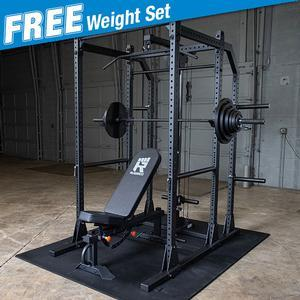 Rugged POWER RACK Package with FREE 300lb. Weight Set (Y100P8)