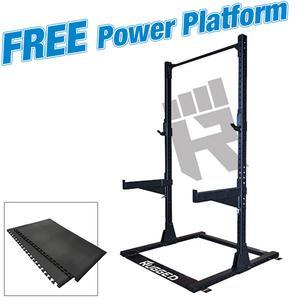 Rugged Half Rack with FREE Power Platform