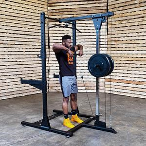 Rugged Half Rack Lat Attachment (Y230)