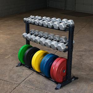 Rugged Combination Weight Plate Dumbbell Rack (Y420)
