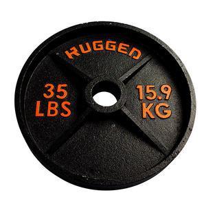 35 lb. Rugged Deep Dish Olympic Plate (YODDP35)