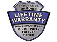 Endurance Lifetime Warranty