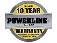 POWERLINE 10 Year In-Home Warranty