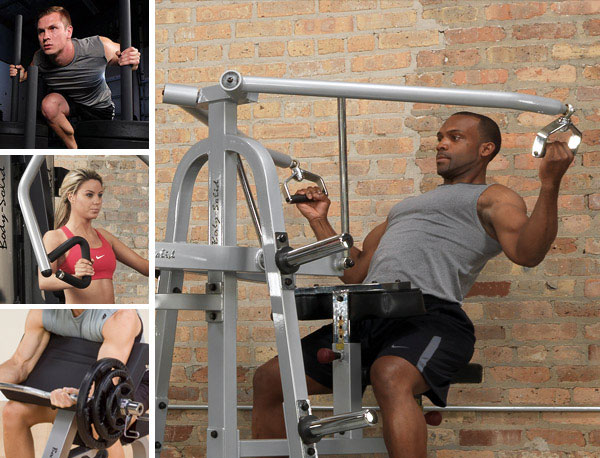 Upper Body Exercise machinesfor Muscle Development