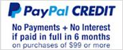 Financing - Paypal