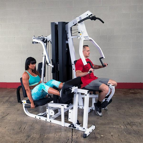 Floor model exm lps double stack home gym