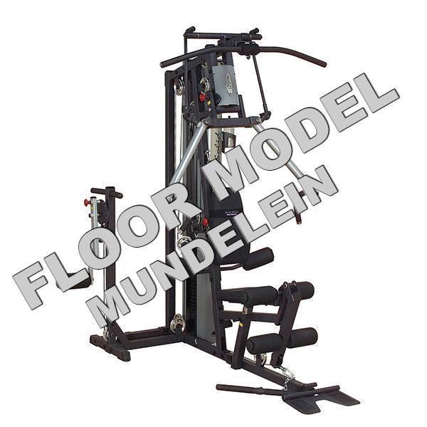 Body solid g b home gym floor model