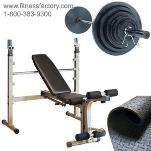 Olympic Bench Weights Package