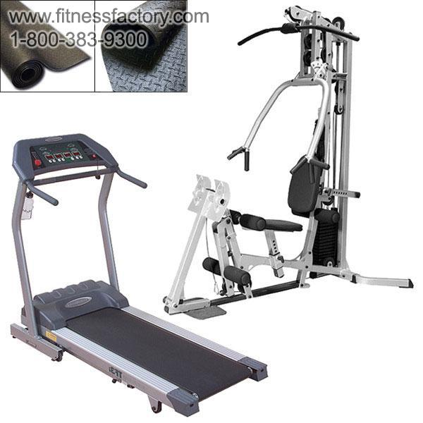 BSG10LPX Gym and Endurance TF3I Treadmill Package