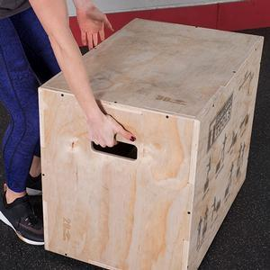 Body-Solid Wood Plyo Box