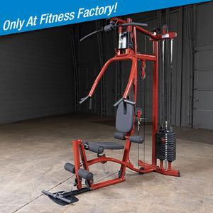 Exm1 home gym built by body solid exclusively for fitness factory