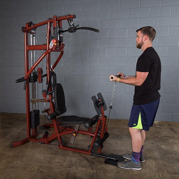 Exm home gym with leg press save over