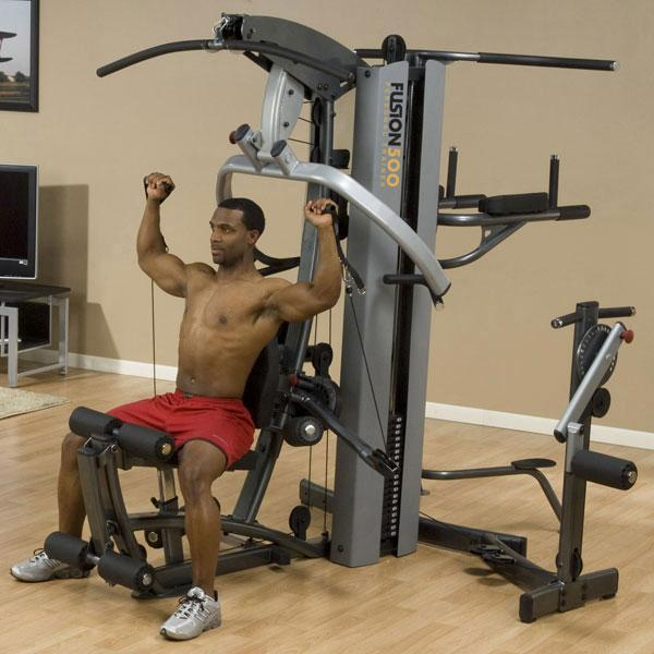 Body solid fusion personal trainer lb stack