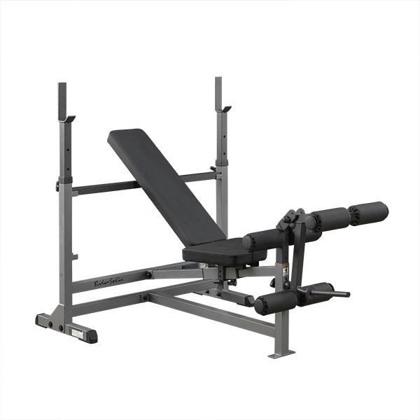 Body Solid Gdib46l Power Center Olympic Bench