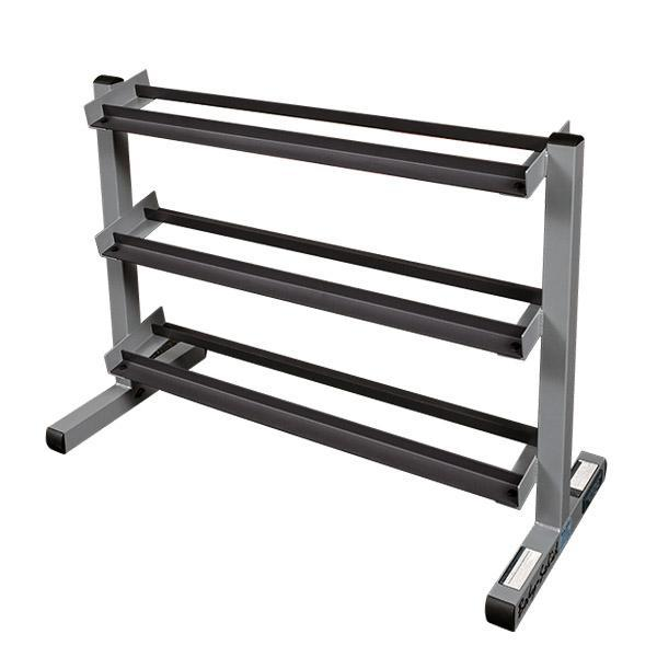 Body-Solid Dumbbell Weight Rack  sc 1 st  Fitness Factory & Weight Racks | Storage for Plates Dumbbells Kettlebells \u0026 More