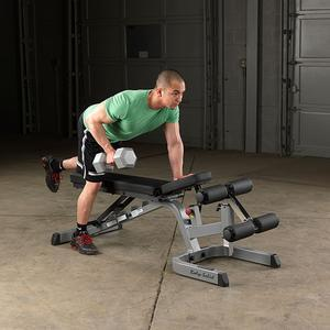 Body-Solid GFID71 Heavy Duty Flat-Incline-Decline Bench