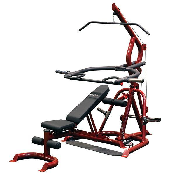 Body Solid Corner Leverage Gym With Bench