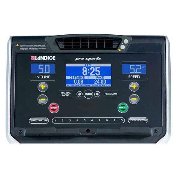 Landice 8700 Treadmill Parts: Landice L7 Treadmill