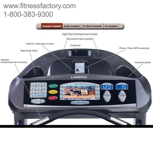 Landice L7 Executive Treadmill Manual: Landice L8 Treadmill LTD