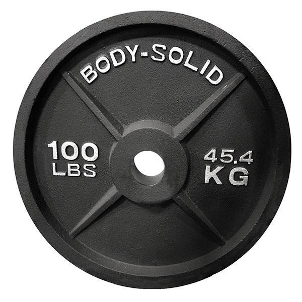 Olympic Iron Weight Plates 2 100 Pounds