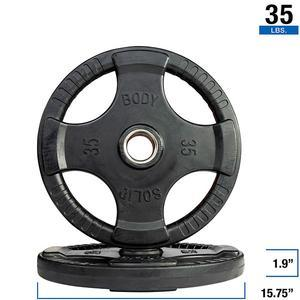 Olympic Rubber Grip Weight Plate