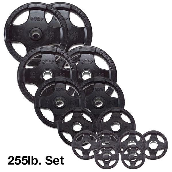 ... Olympic Rubber Grip Weight Plate ...  sc 1 st  Fitness Factory : rubber weight plates set - Pezcame.Com