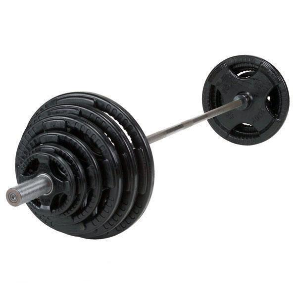 OSR300S Weight Set  sc 1 st  Fitness Factory & 300 lb. Rubber Grip Olympic Weight Plate Set