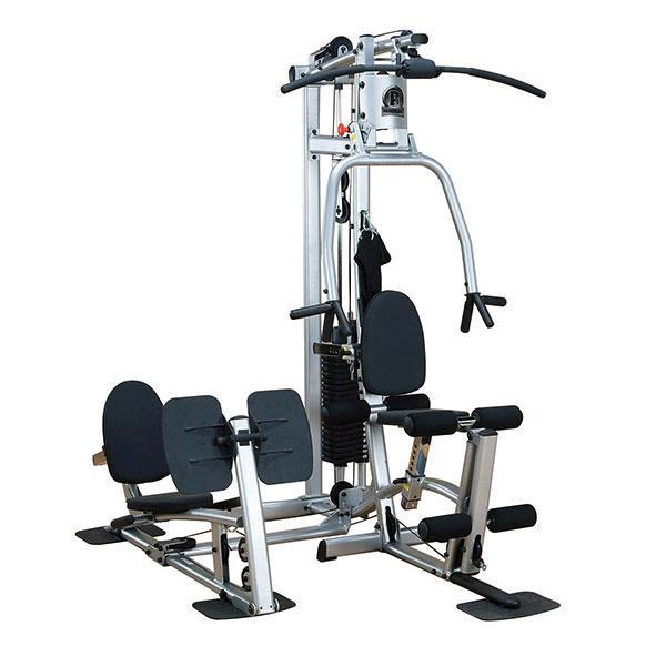 P home gym with leg press