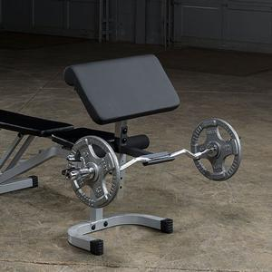 Powerline Adjustable Bench With Leg Hold