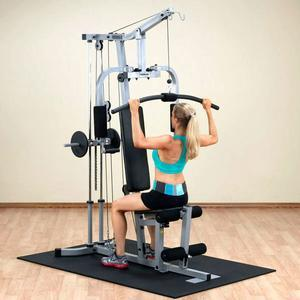 PHG1000X Home Gym lat exercise