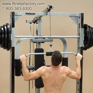 PLA144X : Lat Row Station for Powerline Smith Machine