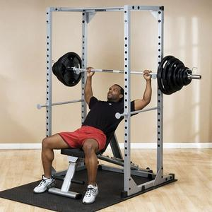 Power Rack with Lat